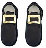 Forum Men's Pilgrim Costume Shoe Cover, Black, One Size Black buckle style pilgrim shoe coversEasy to slip on over flat shoesOne size fits most adults, 100 Pilgrim Costume, Slip On, Flats, Costumes, Cover, Sneakers, Shoes, Style, Fashion