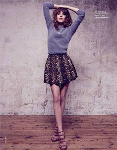 Alexa Chung for Elle France September 2012