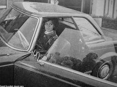 Italian Actress Sophia Loren and Mercedes-Benz 280 SL Pagoda, 1963–1971