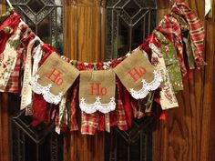 A personal favorite from my Etsy shop https://www.etsy.com/listing/257778838/red-green-country-hrag-garland-with-joy