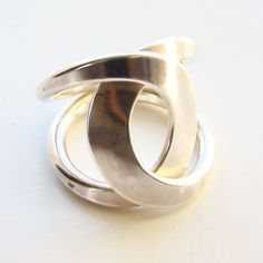 Tone Vigeland Modernist Ring Sterling Silver Norway