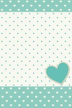 Poá verde+coração