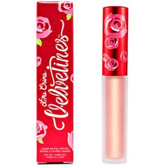 Lime Crime Metallic Velvetine Lipstick found on Polyvore featuring beauty products, makeup, lip makeup, lipstick, beauty, lime crime and lime crime lipstick