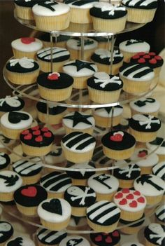 Cup Cakes for a Pirate Themed Wedding by thecustomcakeshop, via Flickr
