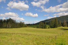 FUNKENFLUG DESIGN Fotografie Landschaft Reit im Winkl Sommer Himmel Wolken Berge