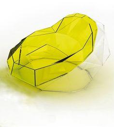 Crystal Armchair by Igor Solovyov