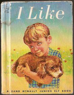 Vintage Children Book I LIKE children story by vintagebooklover