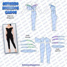 Corset Sewing Pattern, Dress Sewing Patterns, Clothing Patterns, Fashion Sewing, Diy Fashion, Sewing Clothes, Diy Clothes, Sewing Tutorials, Sewing Projects