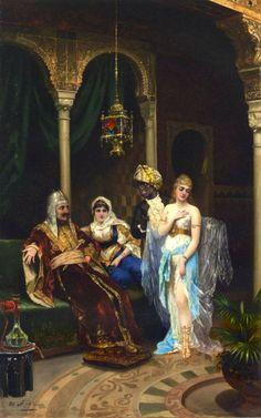 Painterlog.com: Moritz Stifter (Austrian artist,1857-1905)