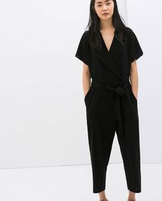 Image 2 of CROSSOVER JUMPSUIT from Zara
