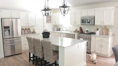 White Kitchen, Farmhouse Kitchen
