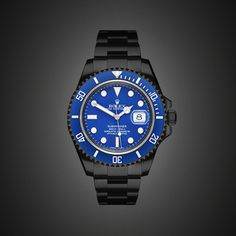 BLACK-OUT ROLEX SUBMARINER DATE by PROJECT X