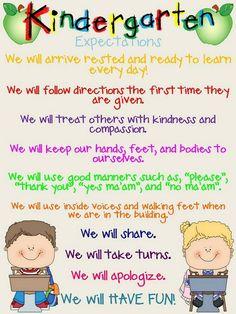 expectations school-ideas