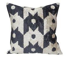 Handmade silk pillow