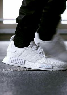 Just in time for spring weather, adidas is readying an all-white version of  its NMD sneaker. This pair features a full-mesh upper, which should make  for a ... 84200f7990df