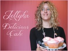 Jellyka Delicious Cake - Free font (link has full alphabet)