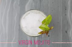 Virgin Mojito cocktail recipe from the Shipshape Studio online shop launch party
