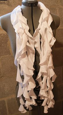 tee shirt scarf how to
