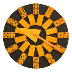 Prototype Domino Clock, Designed by Irving Harper, Howard Miller Clock Company, 1959.