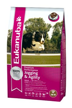 Eukanuba Dog Food. A 10 year study showed that dogs who ate Eukanuba dog food lived up to 30% longer.
