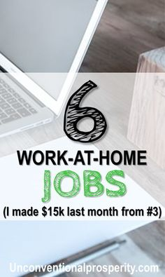 These Are Our Favorite Work At Home Jobs For Anyone That Wants To Stay And Make Money Check Out How Some Of Us Thousands A Month