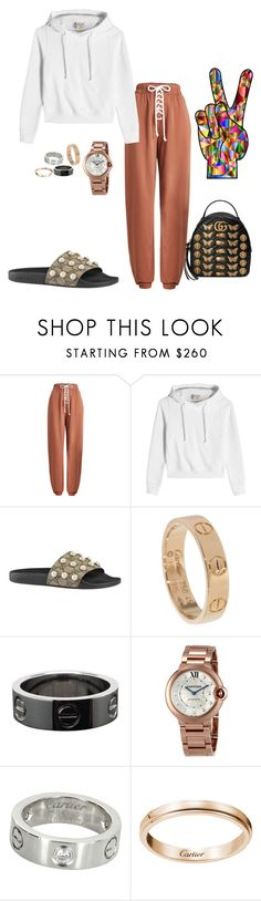 """fudge"" by amber-xx12 ❤ liked on Polyvore featuring Puma, Vetements, Gucci and Cartier"