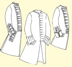 JRCoat - Coat with Military Variations for the Officer or Enlisted Man Sewing Pattern by JP Ry Coat Patterns, Clothing Patterns, Sewing Patterns, Militar Jacket, Wild West Costumes, Revolution Costumes, Couture, Military Costumes, Frock Coat