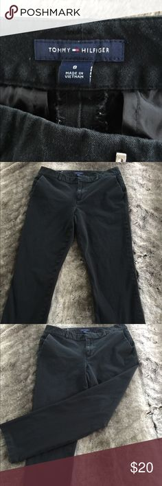 Tommy Hilfiger jeans Tommy Hilfiger Black straight stretch pants . Side pockets. Loops for belt . Tommy Hilfiger Pants