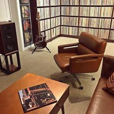 """Audio Visual Revolution on Instagram: """"Died and went to heaven 🤤 #Wharfedale . . . . . 📸: @midnite_ryan01 #avrevolution  #audiovisualrevolution  #audio  #hifi  #audiophile…"""" Vinyl Record Cabinet, Vinyl Record Storage, Vinyl Record Collection, Space Place, Audiophile, Revolution, Heaven, Spaces, Chair"""