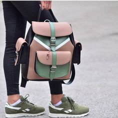 Grafea backpack new styles – Just Trendy Girls Grafea Backpack, Backpack Purse, Leather Backpack, Leather Bag, Laptop Backpack, Fashion 90s, Fashion Fashion, Trendy Backpacks, College Backpacks