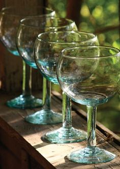 Recycled Glass Big Bowl Glasses - Stylehive