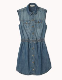 Minidress denim ... V