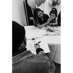 An event we did before covid-19 that hired a caricature artist of ours. Caricature Artist, Toronto, Polaroid Film, Portrait, Illustration, Headshot Photography, Portrait Paintings, Illustrations, Drawings