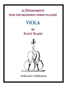12 Pieces For The Beginning Violist There Is A Teachers Part Which Can Be Played