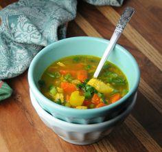 Nourishing Turmeric No-Noodle Chicken Soup