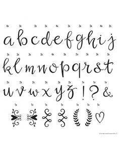 A Little Lovely Company Lightbox Letter Set: Script