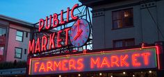 3) After breakfast and eating all that delicious fattening food, the perfect place to go would be Pike Place Market to walk around the various shops.