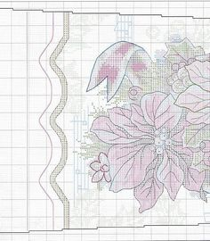1-1 STOCKING /FLOWERS