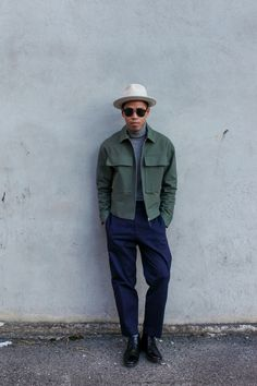 how to style a cropped jacket for men