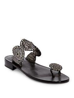 Jack+Rogers Santa+Fe+Toe-Ring+Sandals/Platinum