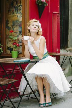 ... Pinterest  Tea length wedding dress, Ladybird ladybird and Tea length
