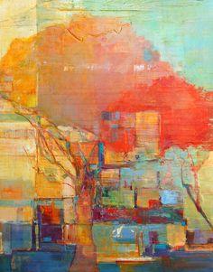 "Elizabeth Washburn - ""Fire Tree #4"""