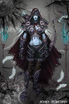 Lady Sylvanas by Dreamechocolat8.deviantart.com on @deviantART