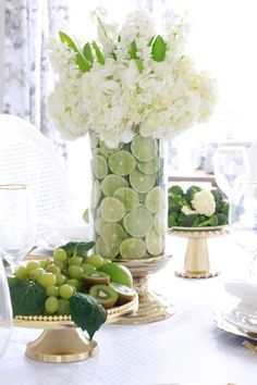 How To Create A Fruit And Floral Arrangement is part of Summer flower arrangements - Learn how to create a fruit and floral arrangement in just a few easy steps! Also see what other gorgeous arrangements my friends are sharing! Summer Flower Arrangements, Summer Flowers, Fresh Flowers, Floral Arrangements, Beautiful Flowers, Diy Flowers, Deco Floral, Floral Design, Deco Table