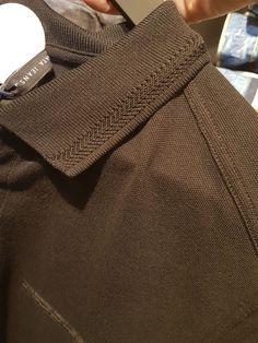 Polo Shirt Outfits, Mens Polo T Shirts, Mens Tees, Polo Shirt Design, Polo Design, Fashion Moda, Knit Fashion, Mens Fashion, Champion Clothing