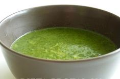 Špenátová polievka 2-3-4.fáza