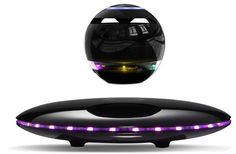 Infinity Orb Magnetic Levitating Speaker Bluetooth LED Flash Wireless Floating Speakers with Microphone and Touch Buttons (Black): Home Audio & Theater Estilo High Tech, Cool Tech Gadgets, Amazon Deals, Amazon Reviews, Amazon Buy, Bluetooth Speakers, Cool Things To Buy, Led, Infinity