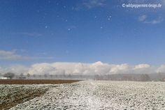 Wetterkapriolen, Winter, Schneetreiben, Wolken, Sonne, wildeschoenheiten.wordpress.com