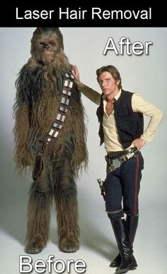 Some dermatology/Star Wars humor for all of you. #texasdls #laserhairremoval