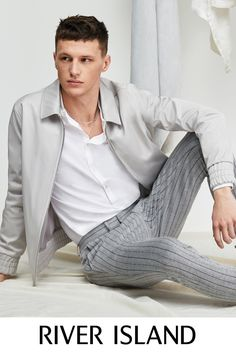 Men's new clothes from River Island - get this season's latest arrivals from your favourite high street store. Shop the full collection online. New Outfits, Spring Outfits, River Island, Seasons, Mens Fashion, Clothes, Shopping, Collection, Women